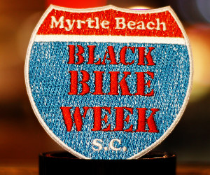 Black Bike Week Patch